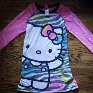 Hello Kitty Long sleeve nightgown
